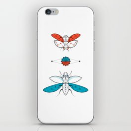 Two Insects II iPhone Skin