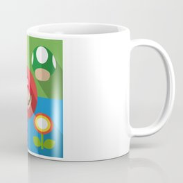 Super Mario flat Coffee Mug