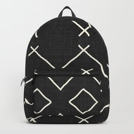 Bath in Black and White Backpack