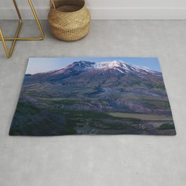Mt. St. Helens Mountain Hiking Adventure Volcano Rug