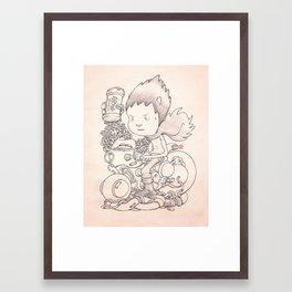 Tetsuo Framed Art Print
