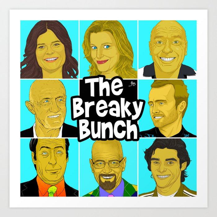 Breaky Bunch Art Print