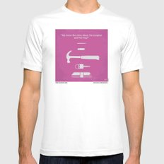 No258 My DRIVE minimal movie poster MEDIUM White Mens Fitted Tee