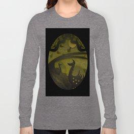 Night papercut Long Sleeve T-shirt