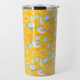 Bird in the Bush Travel Mug