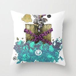 YESANDNO Throw Pillow