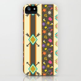 Aztec Pattern 3 iPhone Case