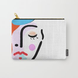 girl with beret Carry-All Pouch