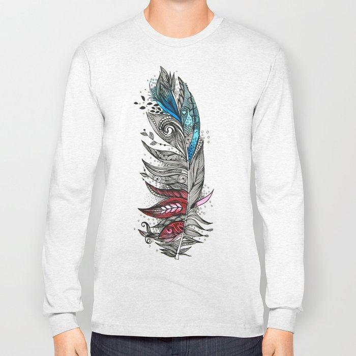Garden Feather Long Sleeve T-shirt
