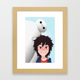 Big Hero Framed Art Print