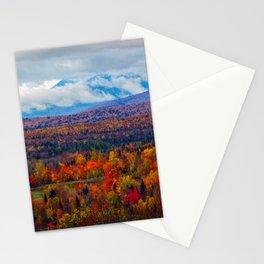 Katahdin Foliage (3) Stationery Cards