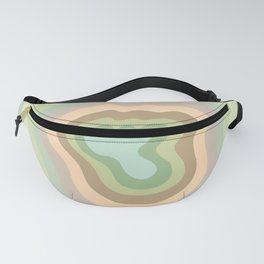 Ausable Chasm Canyon Stripes Fanny Pack