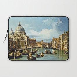 Canaletto Bernardo Bellotto - The Entrance To The Grand Canal, Venice Laptop Sleeve
