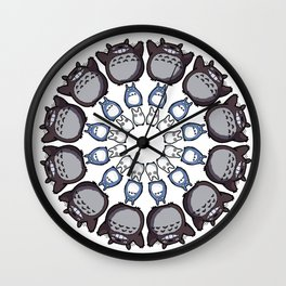 Anime Mandala Wall Clock