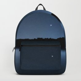 Coma Berenices star constellation, Night sky, Cluster of stars, Deep space, Berenice hair Backpack
