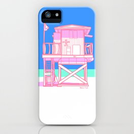 No Lifeguard on Duty 1 iPhone Case