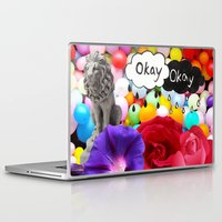 okay Laptop & iPad Skins featuring okay... by Aldo Couture