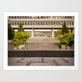 Simon Fraser University Art Print