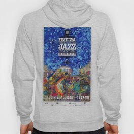 2008 Montreal Jazz Festival Advertising Gig Poster Hoody