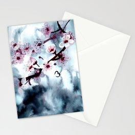 Fading Sakura Stationery Cards