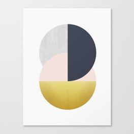 Geometric Polygon XIX Canvas Print