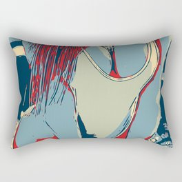 Sexy girl R1 Rectangular Pillow