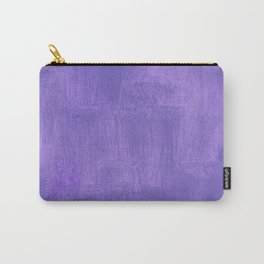 Violet Painted Wall Texture Carry-All Pouch