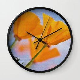 Papaver Wall Clock