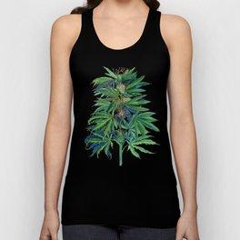 Cannabis Scientific Illustration Unisex Tank Top