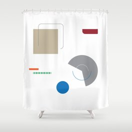 not so simple Shower Curtain