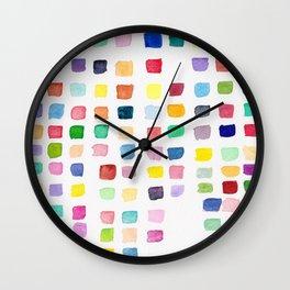 Cascade Square Wall Clock