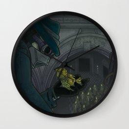 Decimation - Cover 1 Wall Clock