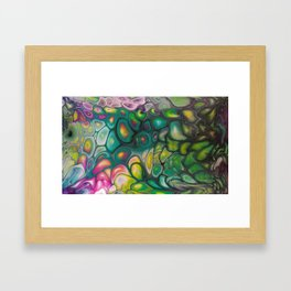 Fluid Color Framed Art Print
