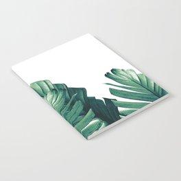 Green Banana Leaves Dream #1 #tropical #decor #art #society6 Notebook
