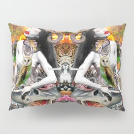 Jungle Melodrama Pillow Sham