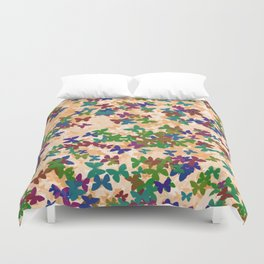 Butterfly home Duvet Cover