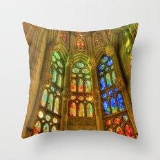 Sagrada Família, Barcelona, Spain Throw Pillow