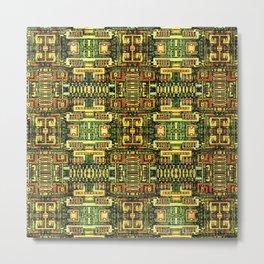 Circuit board v8 Metal Print