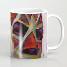 Fishman, a Mexican Luchador Coffee Mug