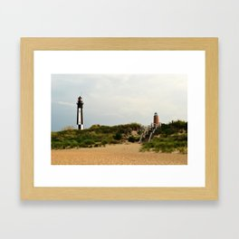 Beach IV Framed Art Print