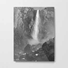 Bridalveil Fall Metal Print