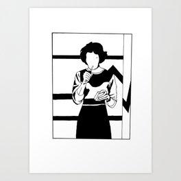 Iconic Women: Audrey Horne Art Print