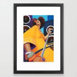 Solista Framed Art Print