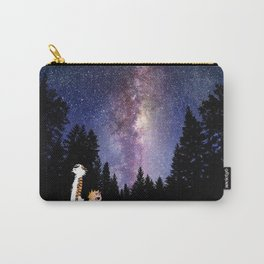 calvin and hobbes in the night large Carry-All Pouch