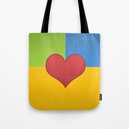 Heart in a Box Tote Bag