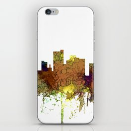 Lubbock, Texas Skyline - Safari Buff iPhone Skin