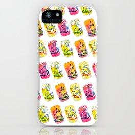 La Croix Watercolor Print iPhone Case