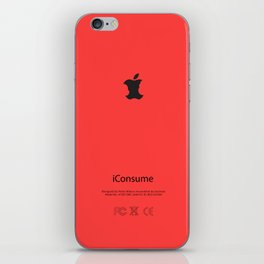 Consumerism iPhone Skin
