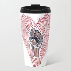 Untitled (Heart Fist) Travel Mug