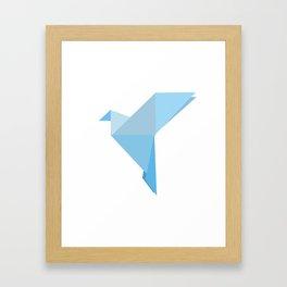 Taking Flight Origami Framed Art Print